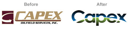Apex Logo Before & After